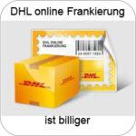 DHL online Frankierung